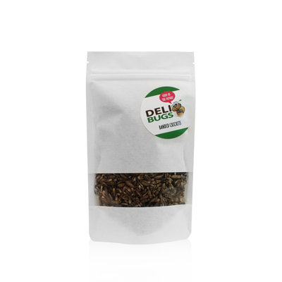Freeze-dried banded crickets 40 grams