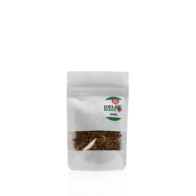 Freeze-dried mealworms 13 grams