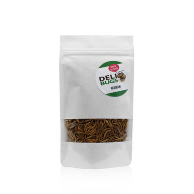 Freeze-dried mealworms 40 grams