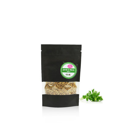 Freezedried Buffalo's Garlic&Herbs 15 gram