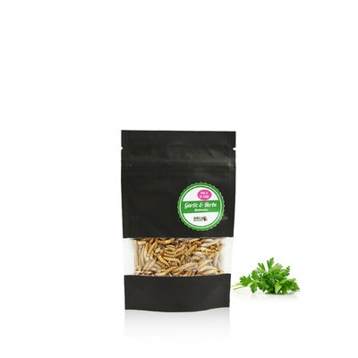 Freezedried Mealworms Garlic&Herbs 13 gram