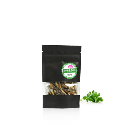 Freezedried Grasshoppers Garlic&Herbs 9 gram
