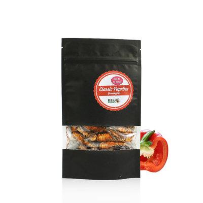 Freezedried Grasshoppers Classic Paprika 20 gram