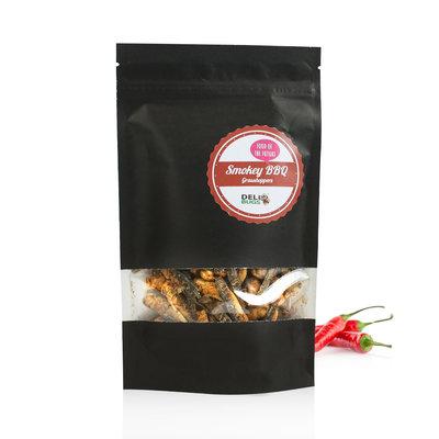Freezedried Grasshoppers Smokey BBQ 40 gram