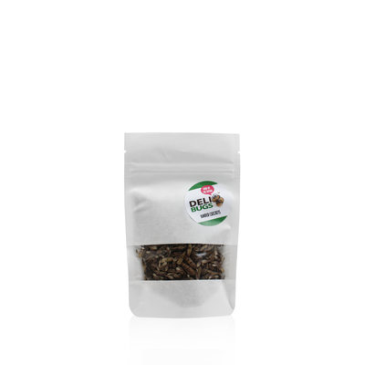 Freeze-dried banded crickets 15 grams