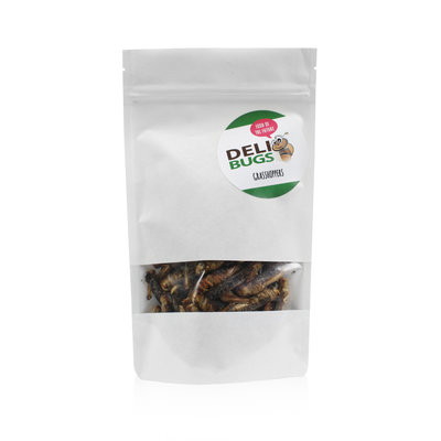 Freeze-dried grasshoppers 40 grams