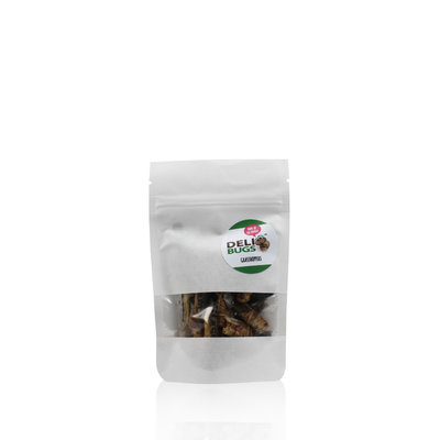 Freeze-dried grasshoppers 9 grams