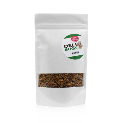 Freeze-dried mealworms 70 grams