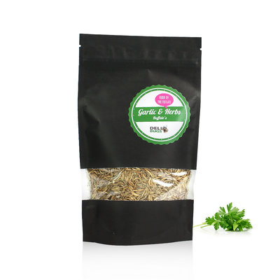 Freezedried Buffalo's Garlic&Herbs 80 gram