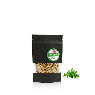 Freezedried Mealworms Garlic&Herbs 13 gram
