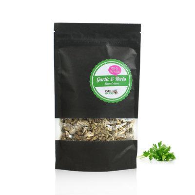 Freezedried House Crickets Garlic&Herbs  70 gram
