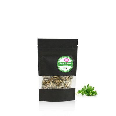Freezedried House Crickets Garlic&Herbs 15 gram