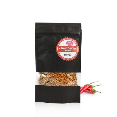 Freezedried Mealworms Classic Paprika 40 gram