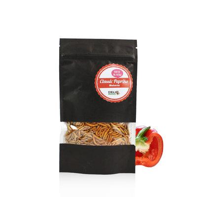 Freezedried Mealworms Classic Paprika 13 gram