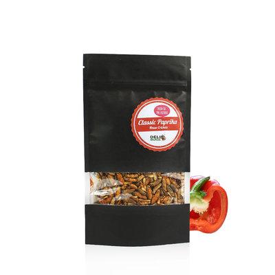 Freezedried House Crickets Classic Paprika 40 gram