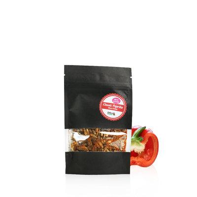 Freezedried House Crickets Classic Paprika 15 gram