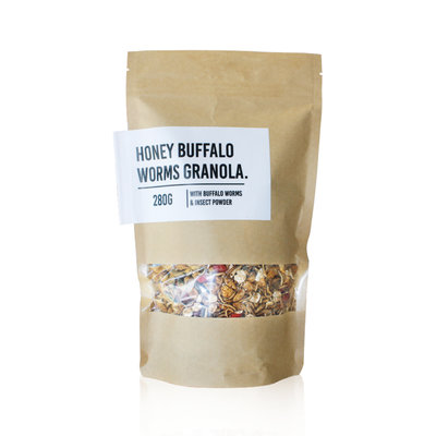 Honey Buffalo Worms Granola