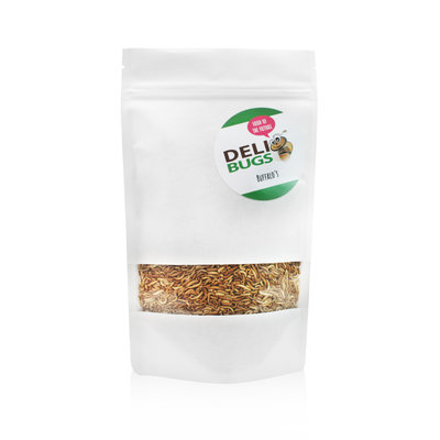 Freeze-dried buffalo beetle larvae 80 grams