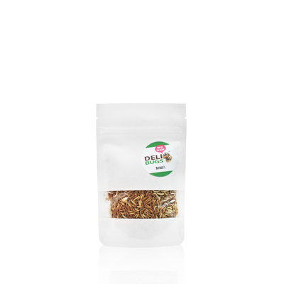 Freeze-dried buffalo beetle larvae 15 grams